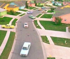 edward scissorhands, car, and movie image