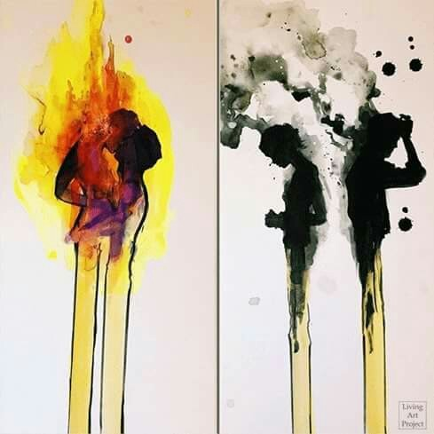 art, grunge, and rose image