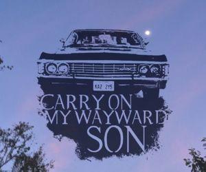 supernatural, impala, and wallpaper image