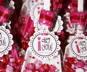 candy, hearts, and sweets image