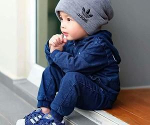 baby, adidas, and kids image