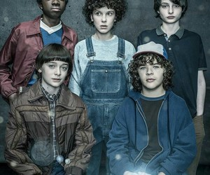 stranger things, eleven, and millie bobby brown image