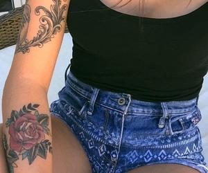 girl, tattoo, and Tattoos image