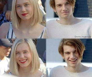 skam, couple, and love image