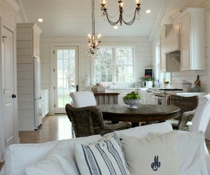home decor, open concept, and soft white image