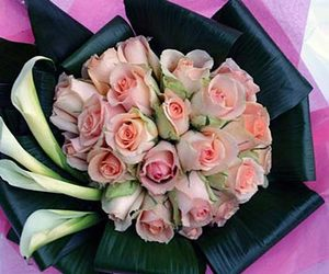 calla lilies, flowers delivered london, and florist delivery london image