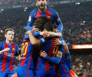 Barca, messi, and mes que un club image
