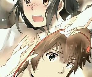 anime, fanart, and miyamizu mitsuha image