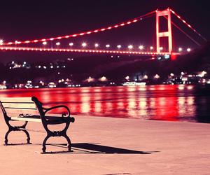 istanbul, bridge, and turkey image