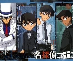 detective conan and shinichi kudo image
