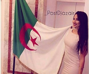 girl and algerie image