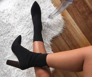 fashion, boots, and legs image