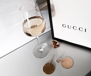 gucci, fashion, and drink image