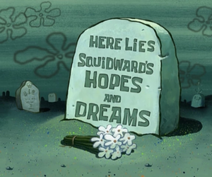 Dream, squidward, and spongebob image