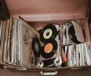 music, vintage, and pink image