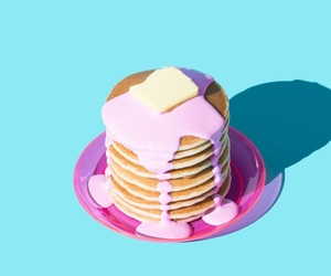 pancakes, food, and minimalist image
