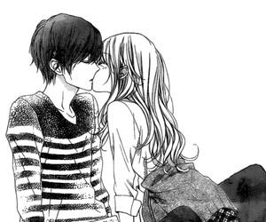 kiss, manga, and couple image