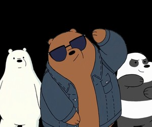 grizzly, ice bear, and jacket image