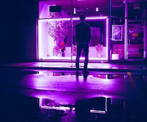 pink, neon, and purple image
