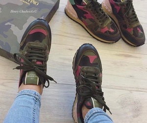 jeans, khaki, and sneakers image