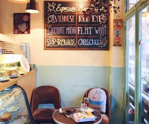 cafe, vintage, and decor image