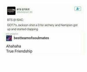 jackson, kpop, and bts image