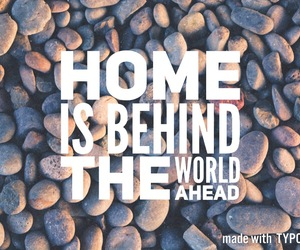 home, inspiration, and quote image