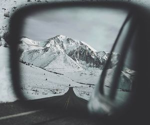 mountains, snow, and photography image