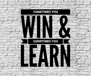 b&w, learn, and quote image