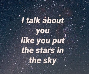 deep, quote, and sky image