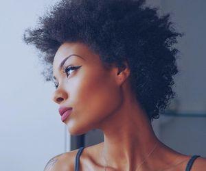 natural hair, short hair, and TWA image