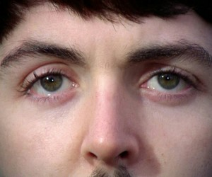 Paul McCartney, eyes, and the beatles image