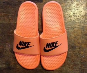 orange, sandals, and shoes image