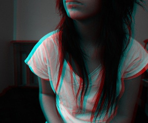 3d, girl, and hair image
