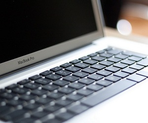 apple, computer, and laptop image