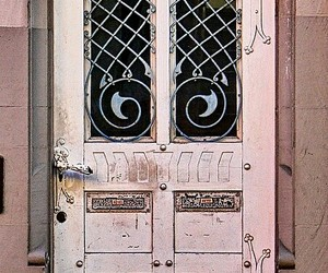 doors, germany, and metall image