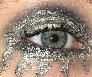 glitter and silver image
