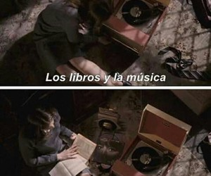 music, books, and frases image