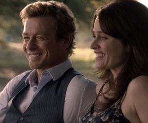 hapiness, simon baker, and the mentalist image
