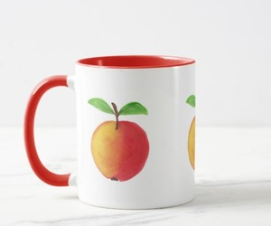 apple, red, and fruit image