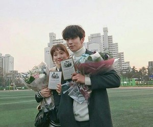 couple, drama, and sung kyung image