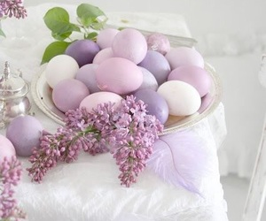 spring, easter, and easter eggs image