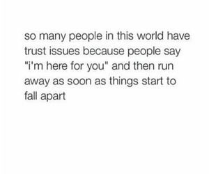 people, fall apart, and quote image