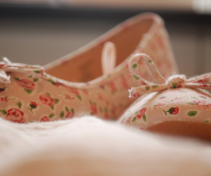 shoes, cute, and floral image