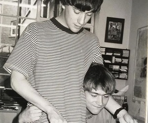 blur, damon albarn, and graham coxon image