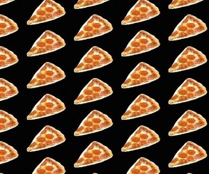 pizza and wallpaper image