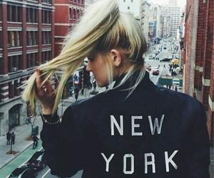 girl and newyork image