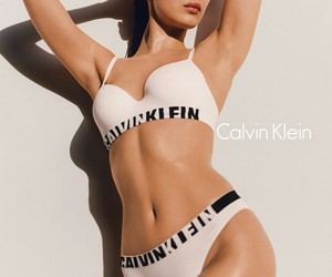 bella hadid, model, and Calvin Klein image