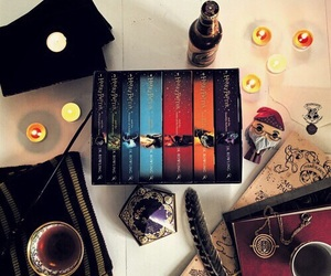 harry potter, book, and potterhead image