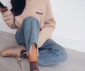 classy, pale pink, and shoes image
